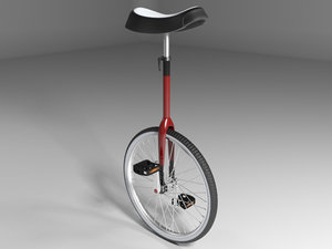 3d model unicycle