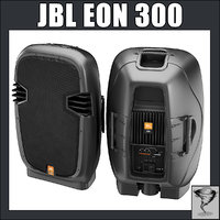 3d jbl eon 300 model