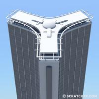 3d skyscraper 3