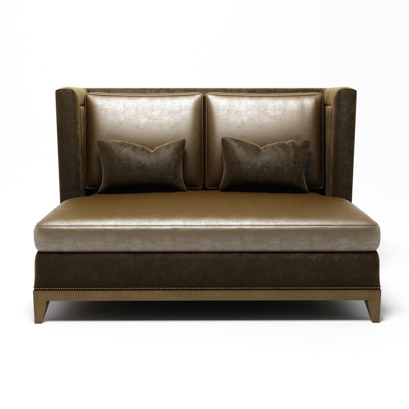 Sherrill Furniture 4013 3d Model