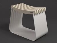 3d model henri stool