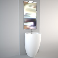 Standing Egg Pod wash-basin