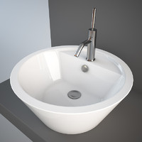 Standing Cone wash-basin