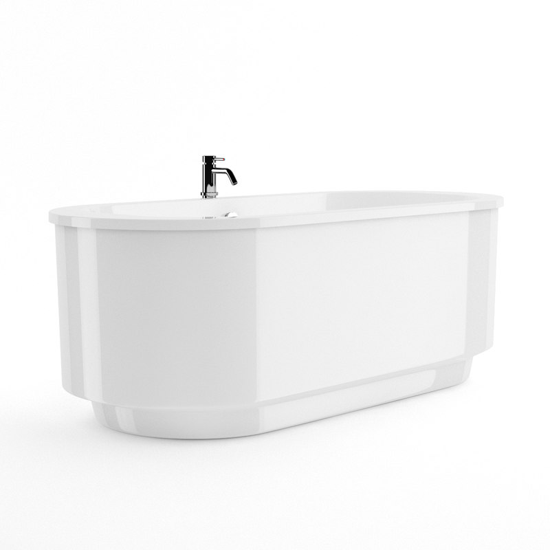 3d bath bathtube