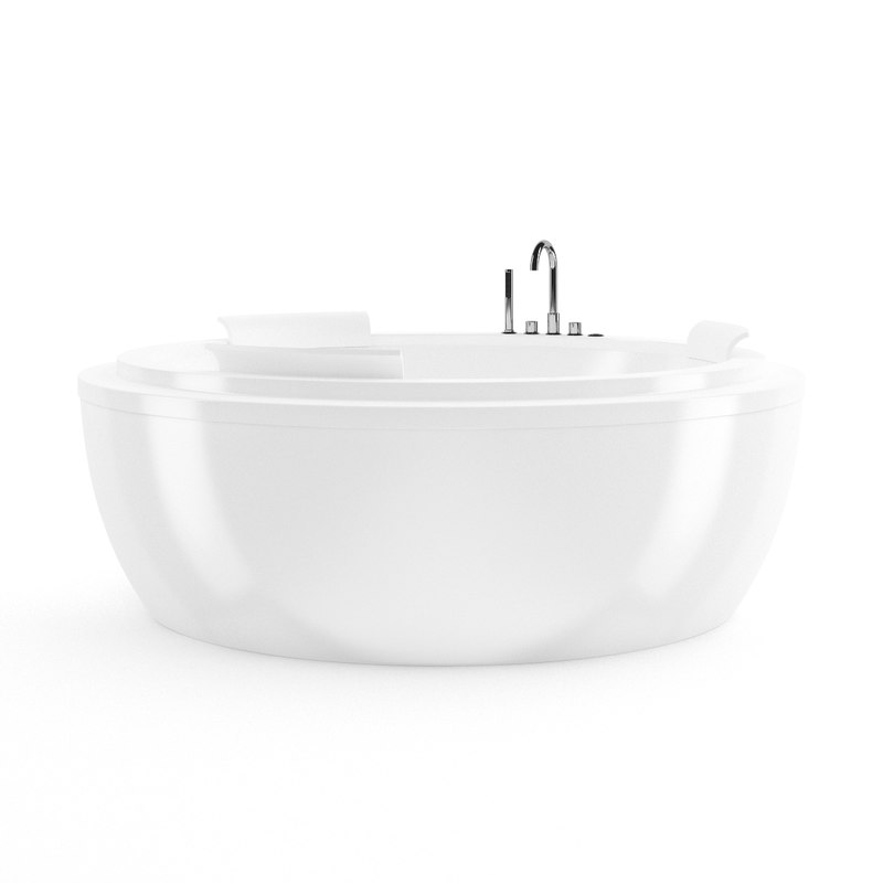 3d model bath bathtube