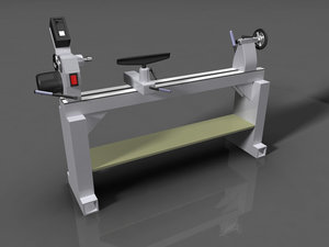3d woodworking lathe