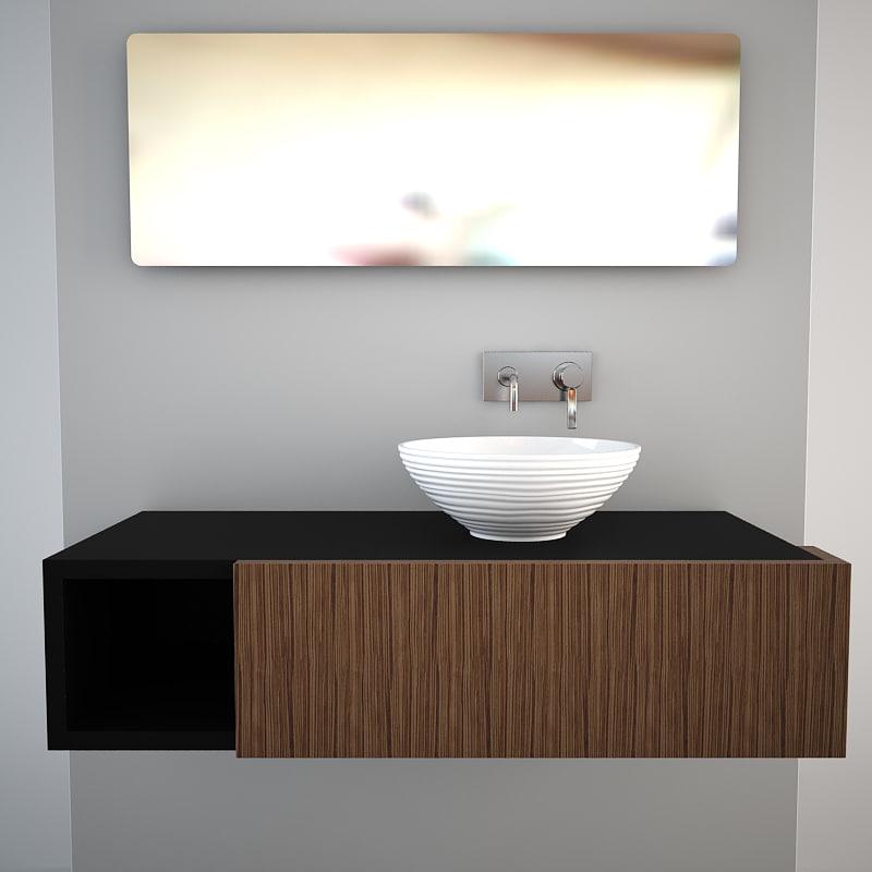 nic design onde 3d model