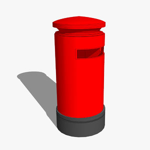 post box 3d 3ds