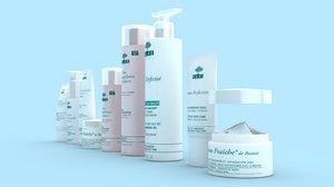 cosmetics 3d 3ds