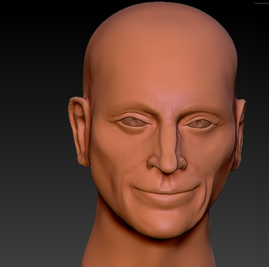 free 3ds model sculpt robert carlyle