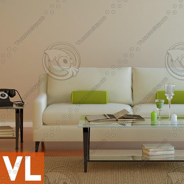 sofa tables 3d max