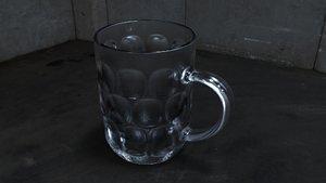 3d model of beer stein