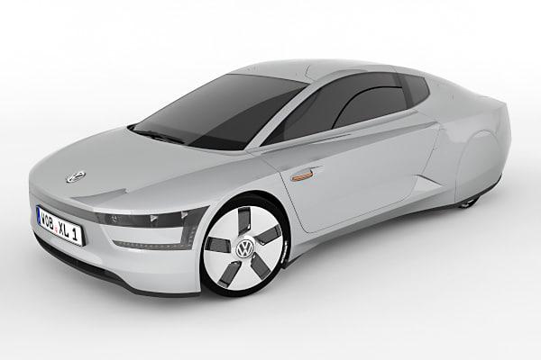volkswagen xl1 concept car max