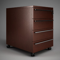 CGAxis Office Drawer Cabinet 02