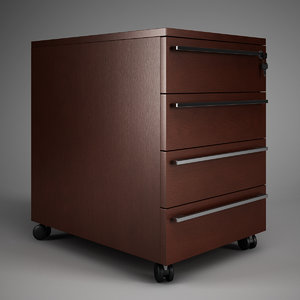 3ds max office cabinet 02
