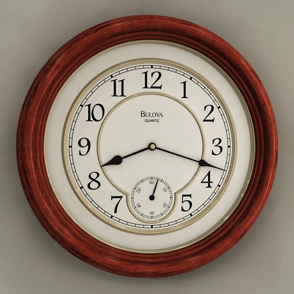 max analog wall clock