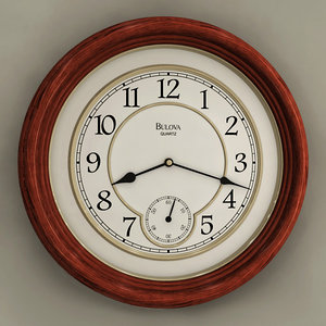 max analog wall clock