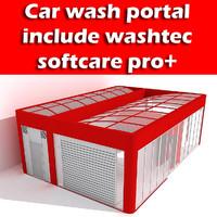 carwash portal 3d max