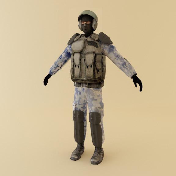 russian police man max