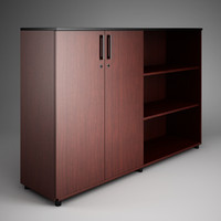 3d office cabinet 11