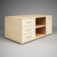 3dsmax office cabinet 22