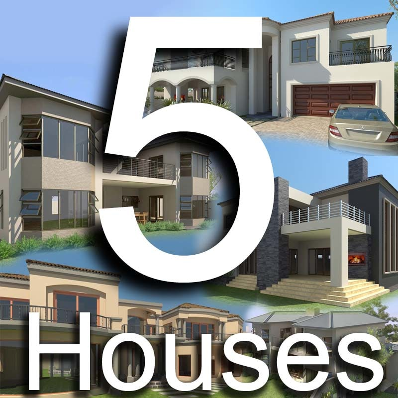 maya 5 houses