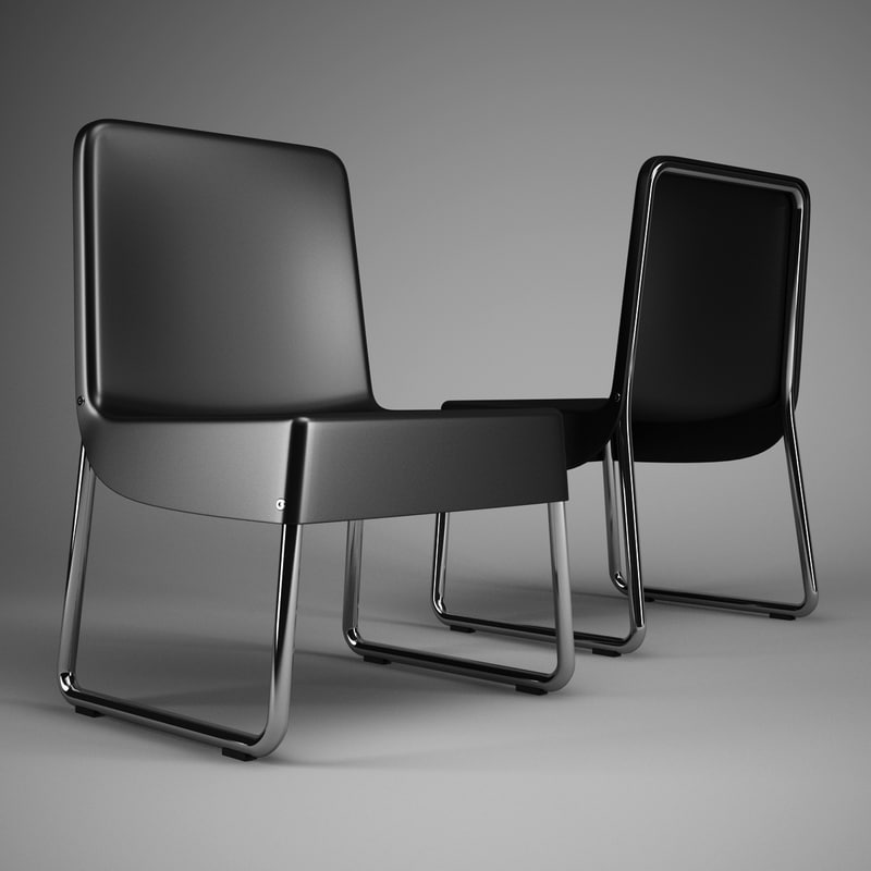 3d max office chair 60