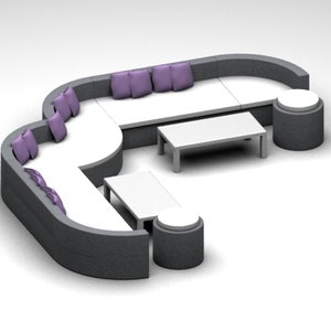 maya alternative sofa set tables