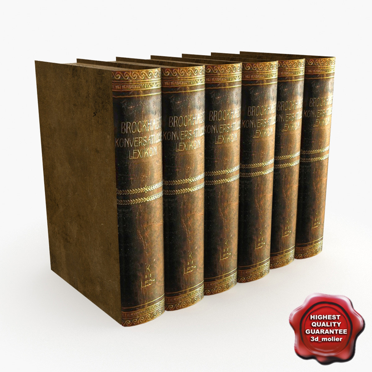 books v7 3d model