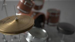 3ds drum set
