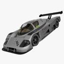 Sauber C9 3D models