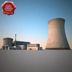 3d nuclear power plant v3