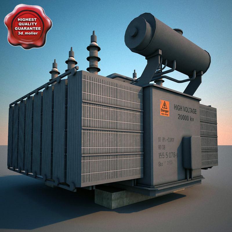 substation v4 3d model