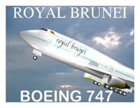 royal brunei 747 3d model