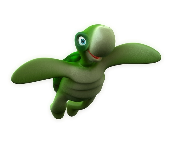 3ds max turtle toon