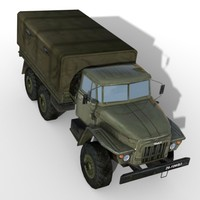 Ural 375 Military Truck