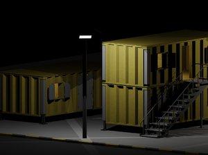3d model blast cabins