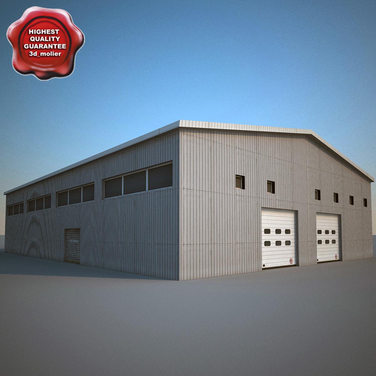 building modelled 3d 3ds