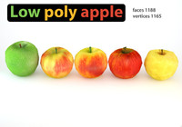 Low Poly Apples Pack