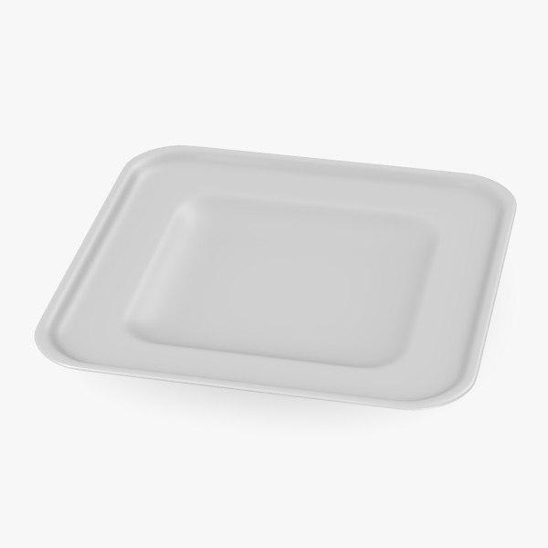 3d model of asian bowl