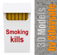 max smoking kills cigarettes packet