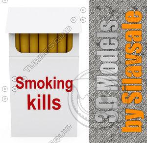 max smoking kills cigarettes packet