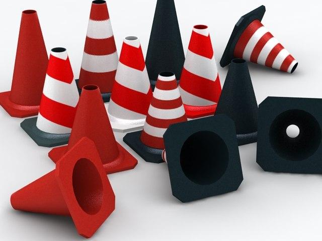 max street cones