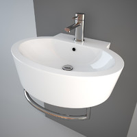 Simas LFT24 wash-basin