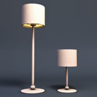 tree lamp 3d model
