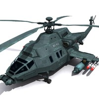3ds new military helicopter