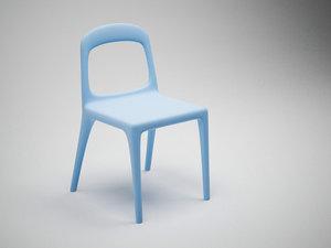 3d chair urban model