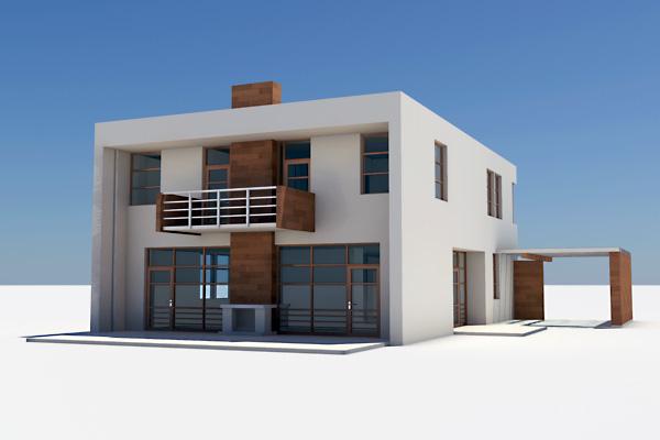 modern house interior max