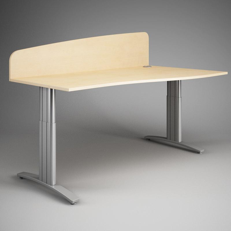3d office desk 19
