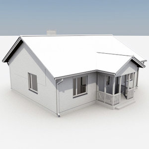 story house 3d 3ds